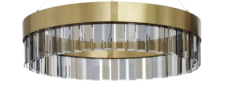 Suspension solaris 1100 laiton o110cm h25cm cto lighting normal