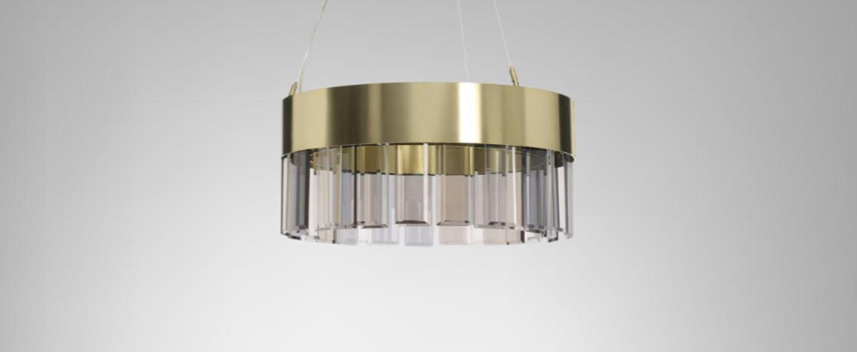 Suspension solaris 500 laiton o50cm h25cm cto lighting normal