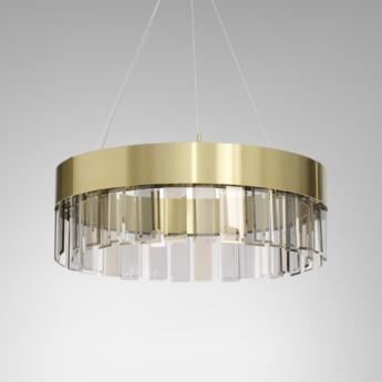 Suspension solaris 700 laiton o70cm h25cm cto lighting normal