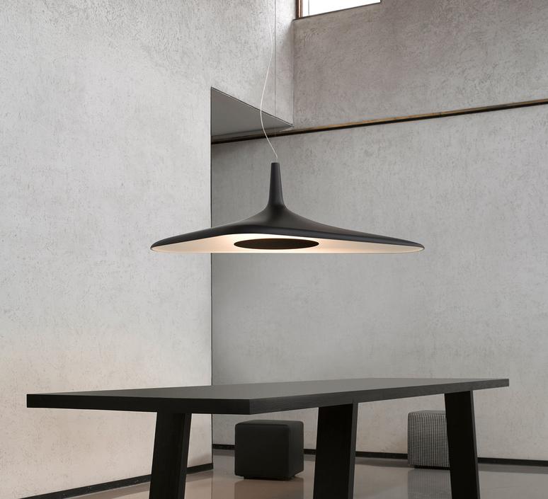 Soleil noir d89s odile decq suspension pendant light  luceplan 1d890s000035  design signed 56115 product