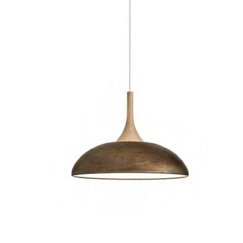 Suspension sombrero marron o50cm h37cm torremato normal