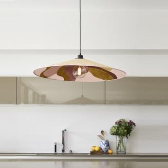 Suspension sonia laudet rose o60cm h8cm market set normal