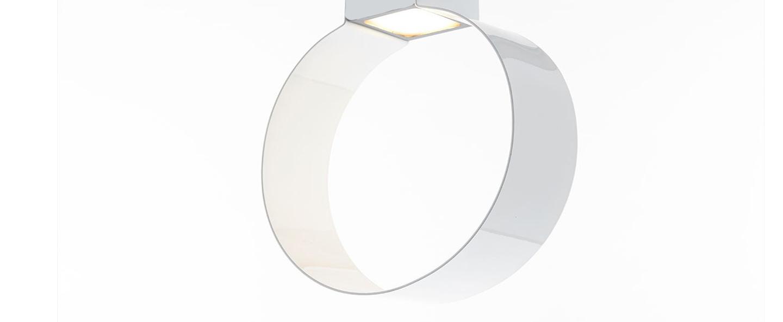 Suspension sonoluce blanc l20cm h29 5cm zava normal