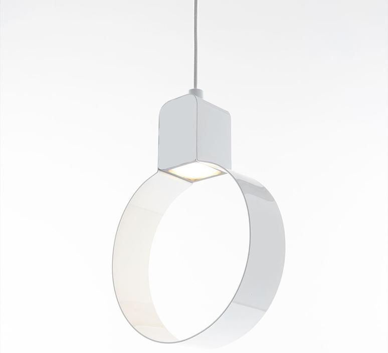 Sonoluce  suspension pendant light  zava sonoluce pendantlamp white ral9010  design signed nedgis 73744 product