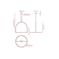 Sp uli 160 timo ripatti suspension pendant light  axo light apuli160ledan  design signed 42175 thumb
