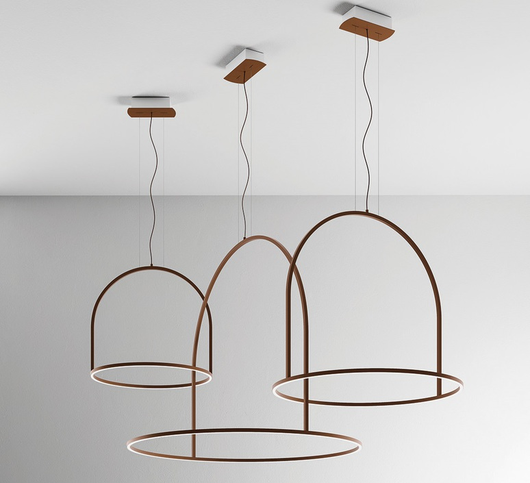 Sp uli 160 timo ripatti suspension pendant light  axo light apuli160ledru  design signed 41757 product