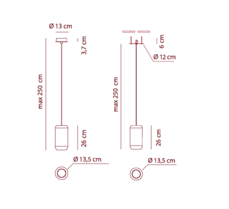 Sp urban m dima logimoff suspension pendant light  axo light spurbanmni  design signed 41646 product