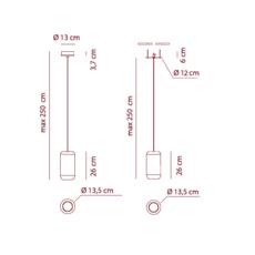 Sp urban m dima logimoff suspension pendant light  axo light spurbanmni  design signed 41646 thumb