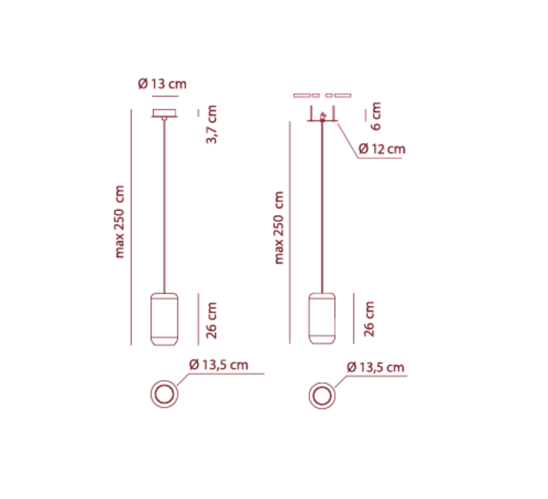 Sp urban p dima logimoff suspension pendant light  axo light spurbanpbr  design signed 41657 product