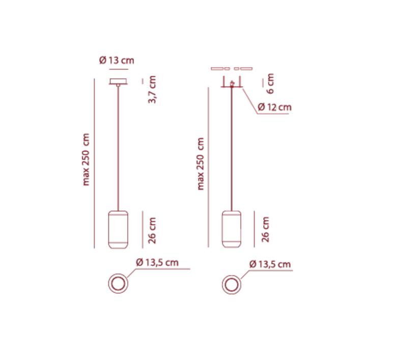 Sp urban p dima logimoff suspension pendant light  axo light spurbanpni  design signed 41654 product