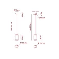 Sp urban p dima logimoff suspension pendant light  axo light spurbanpni  design signed 41654 thumb