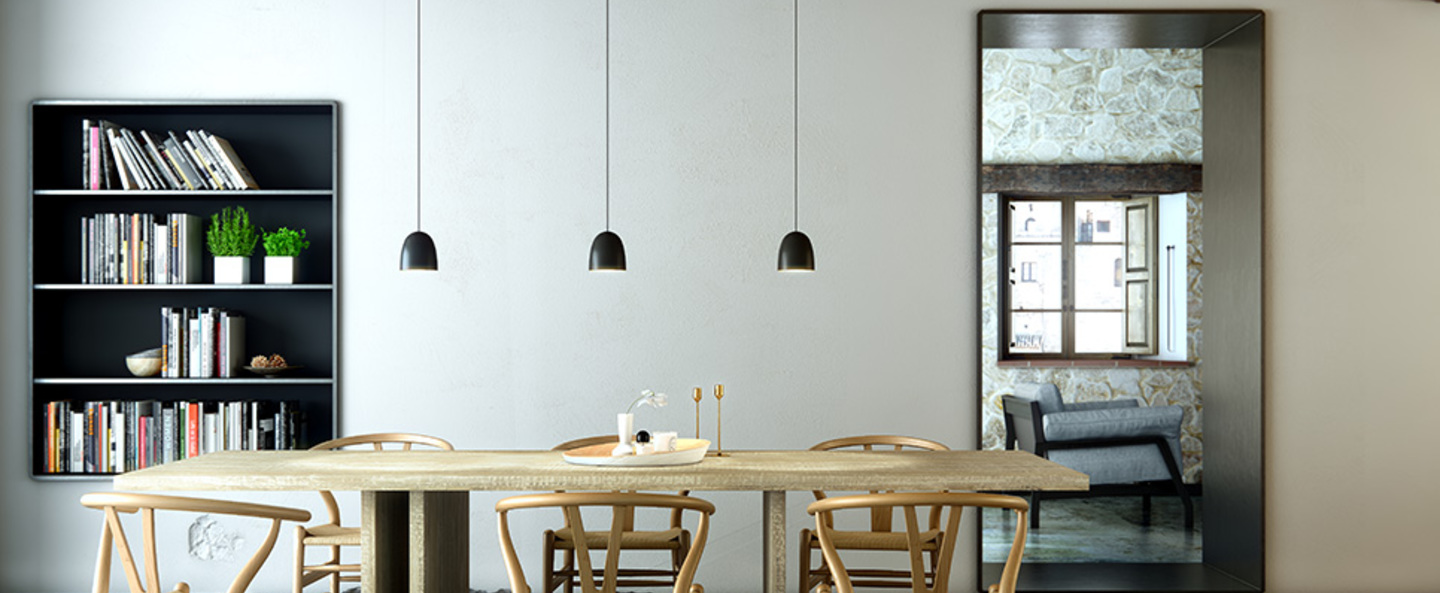 Suspension speers noir cuivre h11 5cm b lux normal