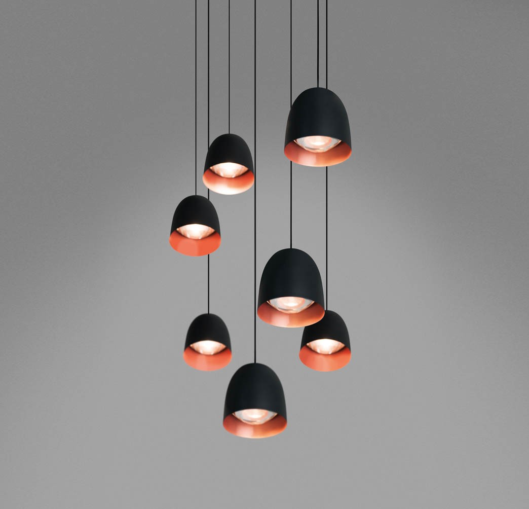 Suspension luminaire en cuivre maison design for Grande suspension luminaire