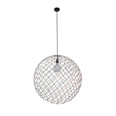 Sphere metal 2xl arik levy suspension pendant light  forestier 20907  design signed 42755 thumb