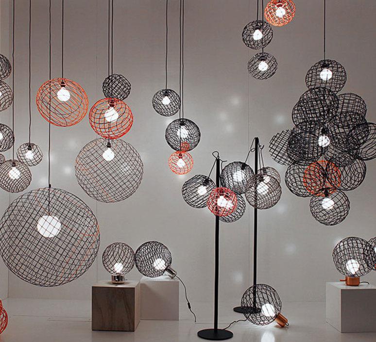 Sphere metal xl arik levy suspension pendant light  forestier 20906  design signed 42717 product