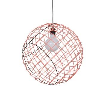 Suspension sphere metal xl orange 50cm cm forestier normal