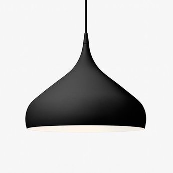Suspension spinning light bh2 noir o40cm h34cm andtradition normal