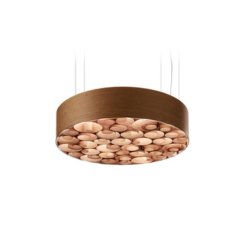 Suspension spiro m cerisier naturel o75cm lzf normal