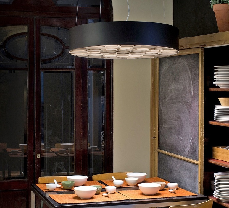 Spiro remedios simon suspension pendant light  lzf sprosg black 22 dali  design signed nedgis 90884 product