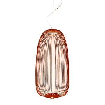 Suspension spokes 1 cuivre led 2700k 3220lm o32 5cm h71cm foscarini normal