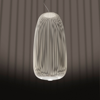 Suspension spokes 1 dimmable blanc led 2700k 3220lm o32 5cm h71cm foscarini normal