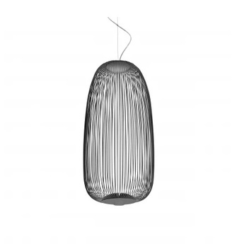 Suspension spokes 1 dimmable graphite led 2700k 3220lm o32 5cm h71cm foscarini normal
