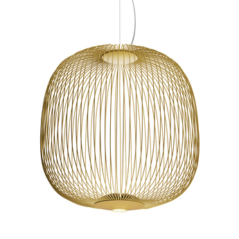 Suspension spokes 2 dimmable or led 2700k 3220lm o52cm h52 5cm foscarini normal