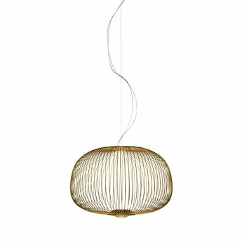 Suspension spokes 3 dimmable or led 2700k 3220lm o62cm h42cm foscarini normal