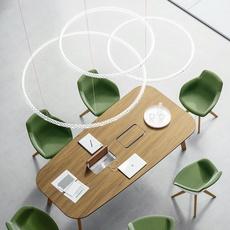Squiggle 2 giovanni lauda suspension pendant light  rotaliana 1sqh200063zl0  design signed nedgis 115321 thumb