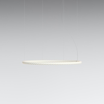 Suspension squiggle 2 blanc led 2700k 3900lm o101cm h4cm rotaliana normal
