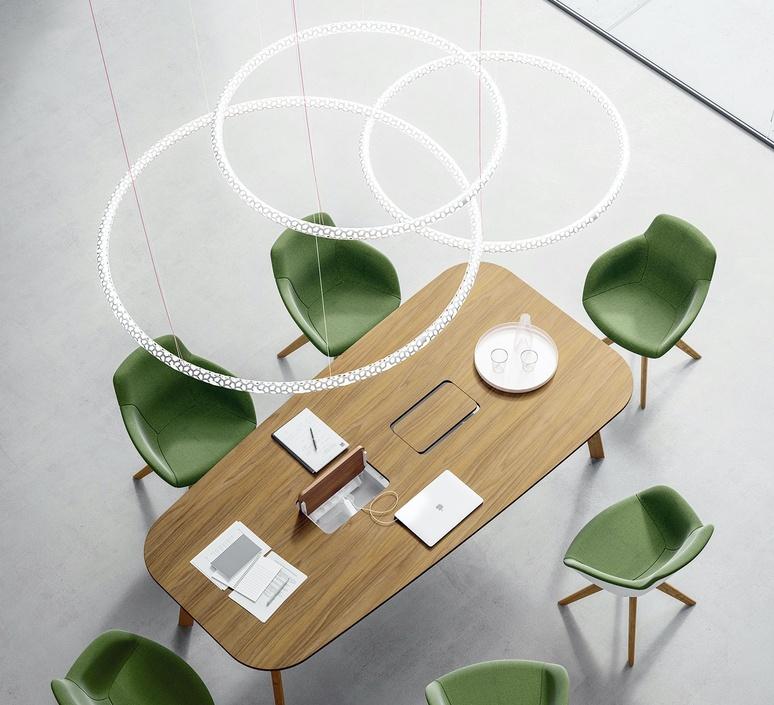 Squiggle 3 giovanni lauda suspension pendant light  rotaliana 1sqh300063zl0  design signed nedgis 115326 product