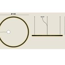 Squiggle 3 giovanni lauda suspension pendant light  rotaliana 1sqh300063zl0  design signed nedgis 115329 thumb