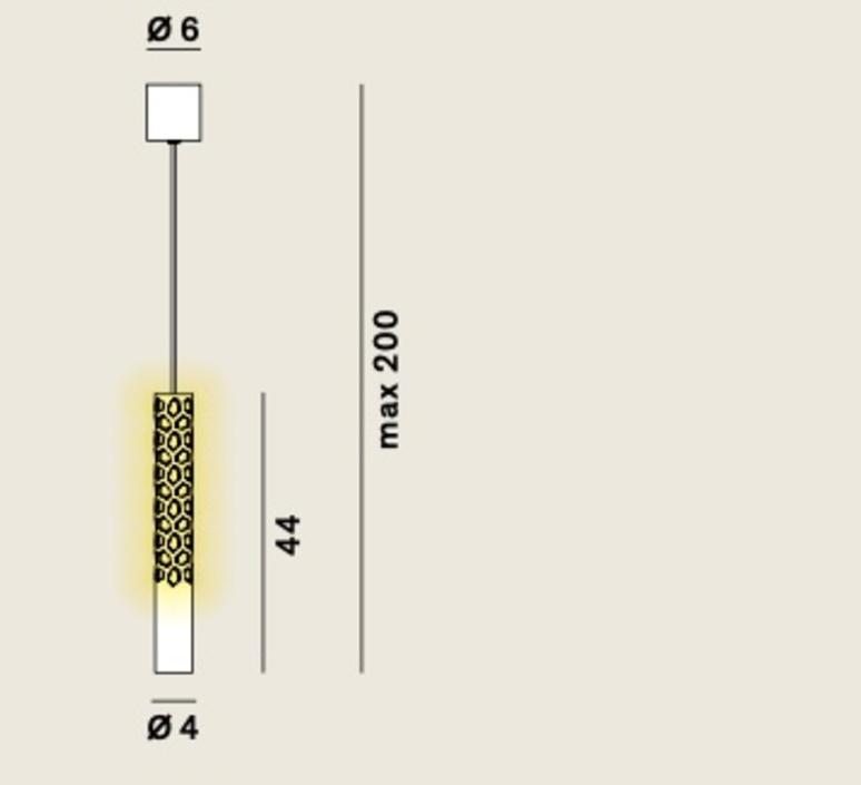 Squiggle 6 paolo rizzatto suspension pendant light  rotaliana 1sqh600063zl0  design signed nedgis 115387 product