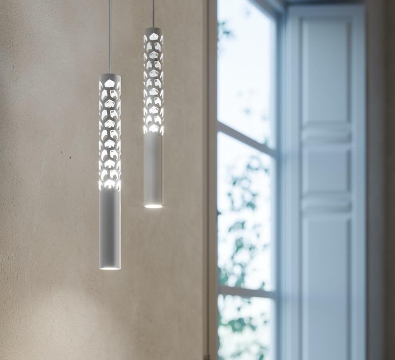 Squiggle 6 paolo rizzatto suspension pendant light  rotaliana 1sqh600063zl0  design signed nedgis 115388 product