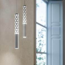 Squiggle 6 paolo rizzatto suspension pendant light  rotaliana 1sqh600063zl0  design signed nedgis 115388 thumb