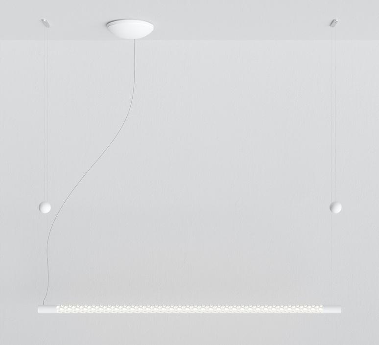 Squiggle 8 paolo rizzatto suspension pendant light  rotaliana 1sqh008063zl0  design signed nedgis 115392 product