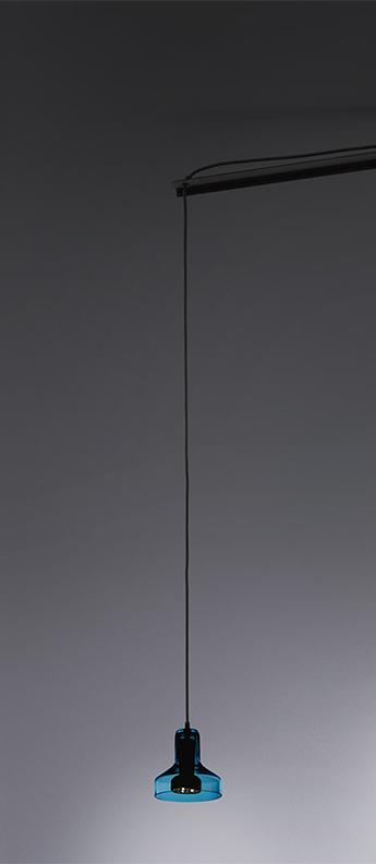 Suspension stablight aquamarine o13 5cm h13cm artemide normal
