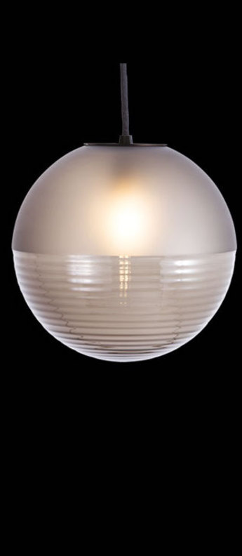 Suspension stellar small gris fume led o23cm hcm pulpo normal