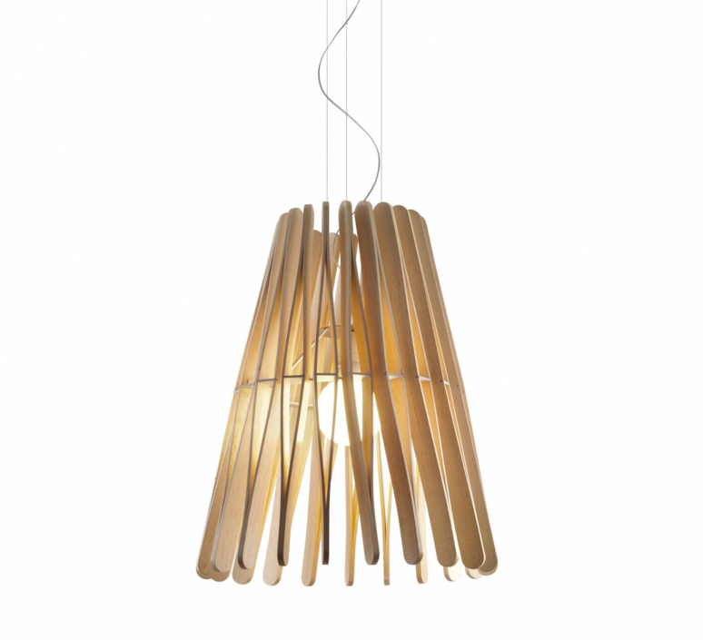 Stick f23 cone matali crasset suspension pendant light  fabbian f23a03 69  design signed 39899 product
