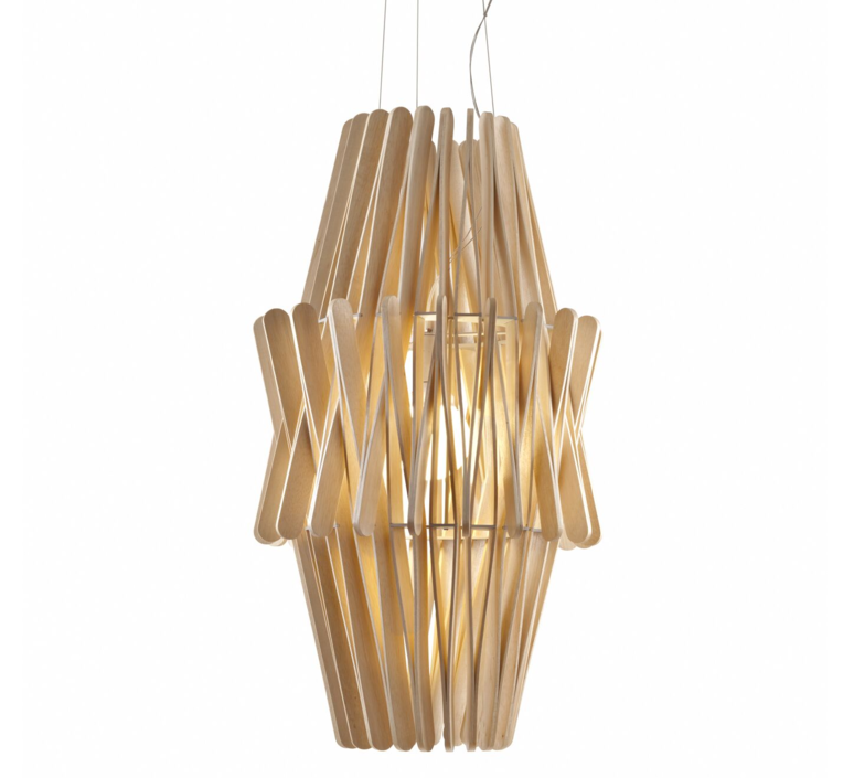 Stick f23 double cone matali crasset suspension pendant light  fabbian f23a05 69  design signed 39896 product