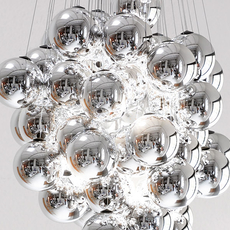 Stochastic d87sg daniel rybakken suspension pendant light  luceplan 1d870cc00000 1d8707200018  design signed 56192 thumb