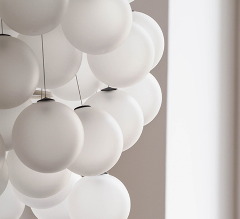 Stochastic d87sp daniel rybakken suspension pendant light  luceplan 1d870cc00000 1d8704800002  design signed 56173 product