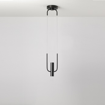 Suspension storm graphite satine led o15 6cm h48 a 248cm cvl normal