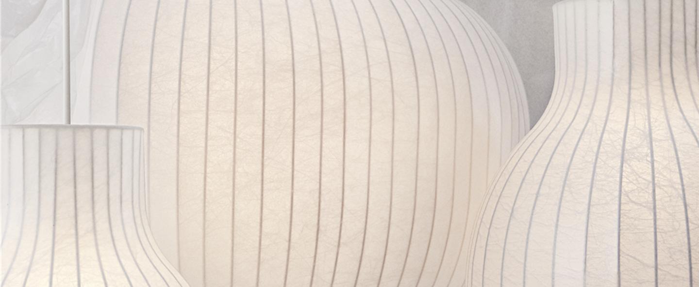 Suspension strand open blanc o40cm h50 2cm muuto normal