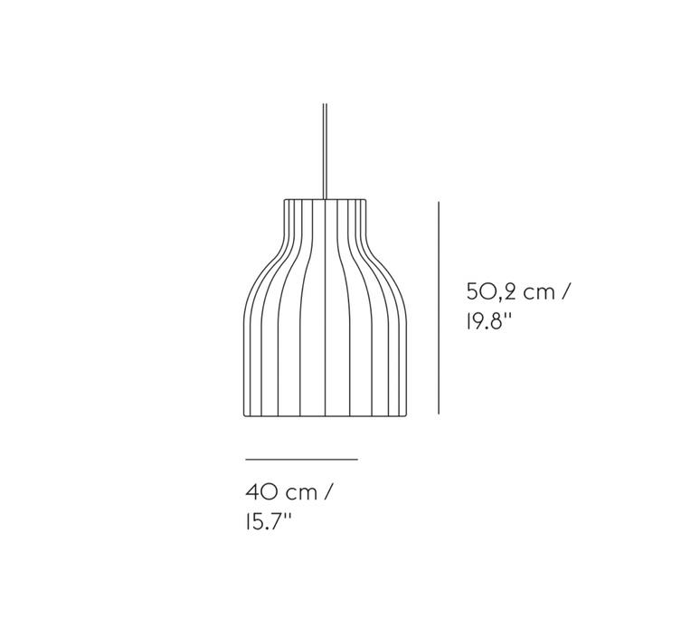 Strand open benjamin hubert suspension pendant light  muuto 22371  design signed nedgis 76079 product