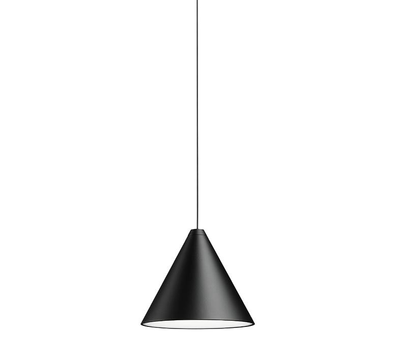 String light cone 12m rosace  michael anastassiades suspension pendant light  flos f6481030 f6482030  design signed nedgis 113559 product