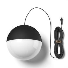 String light sphere 12m alimentation sol  michael anastassiades suspension pendant light  flos f6480030 f6484030  design signed nedgis 113607 thumb