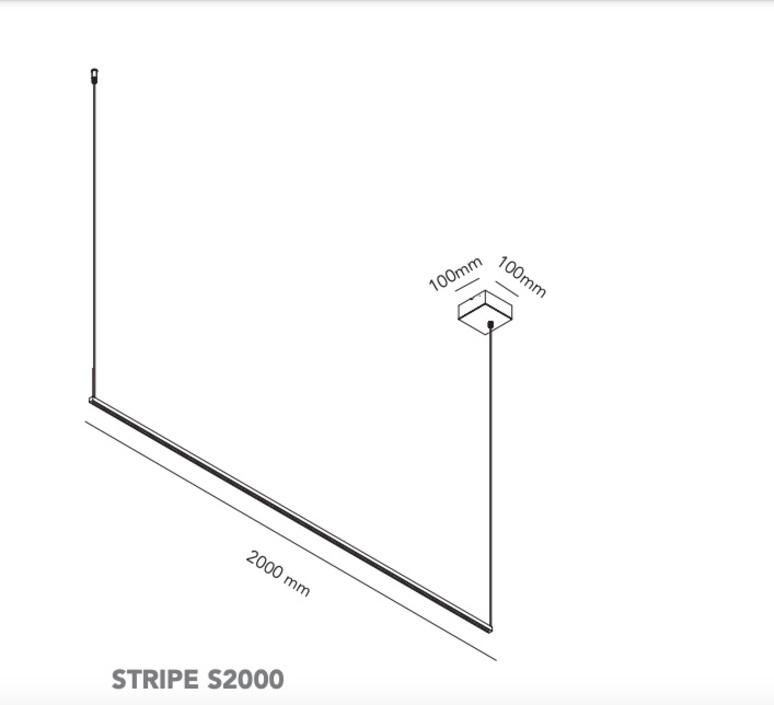 Stripe s2000 ronni gol suspension pendant light  light point 270371  design signed nedgis 96827 product