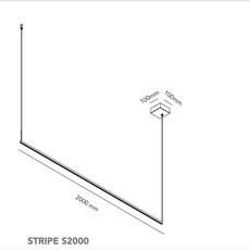 Stripe s2000 ronni gol suspension pendant light  light point 270371  design signed nedgis 96827 thumb