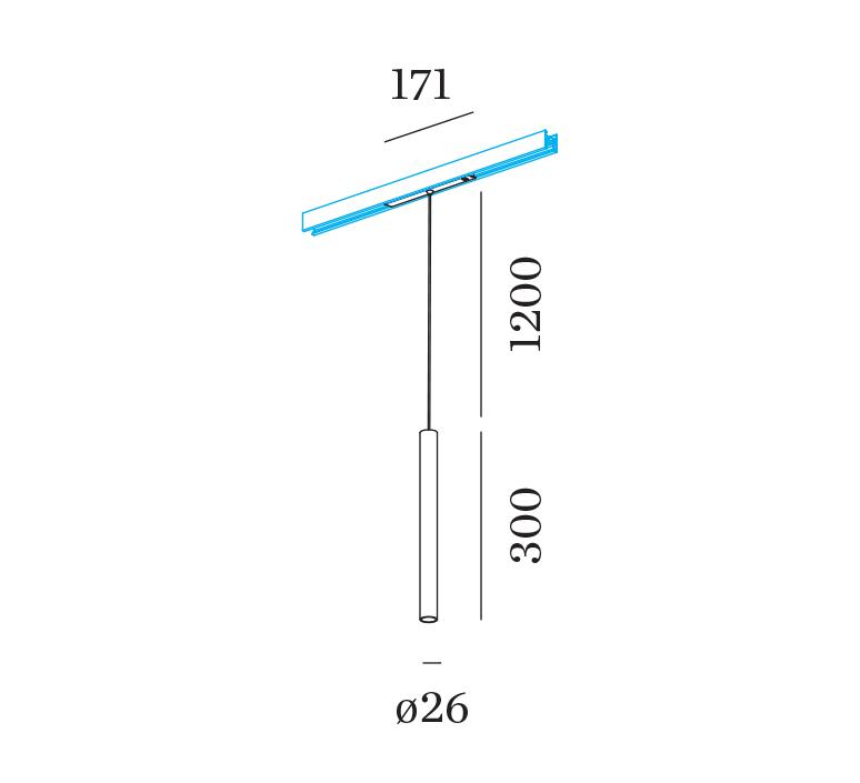 Stube on track 48v studio wever ducre suspension pendant light  wever et ducre 170365b3  design signed nedgis 127163 product
